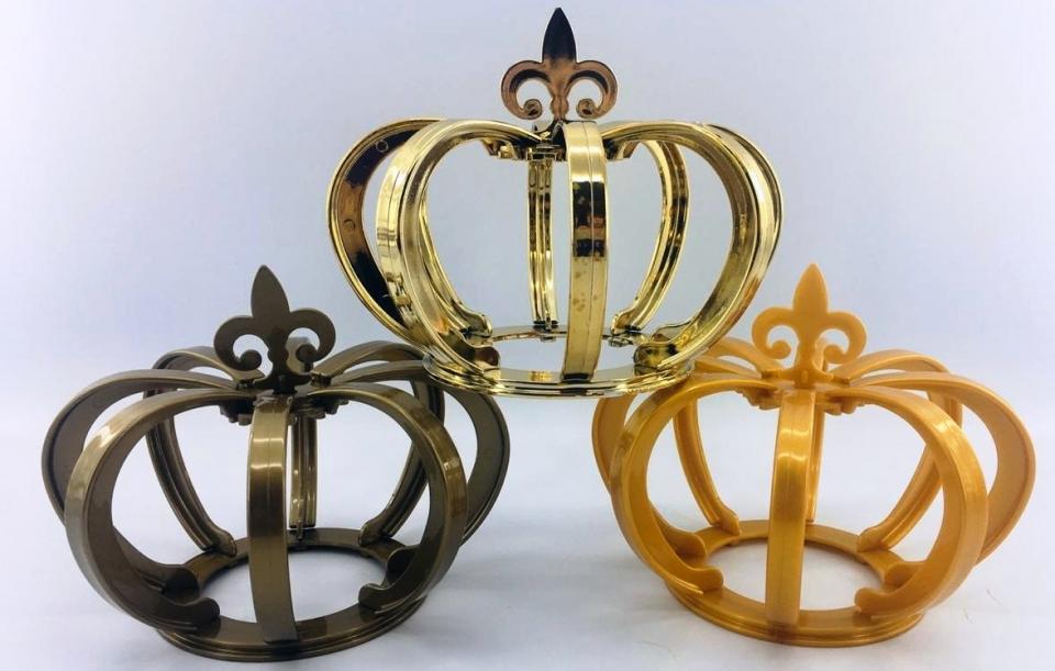 Coroa 3D - Ouro Perolado