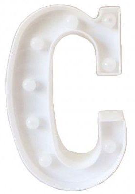 Letra LED - C