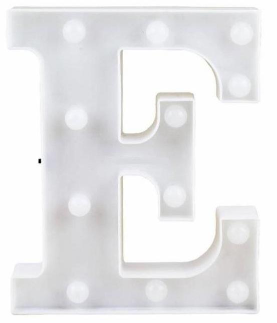 Letra LED - E