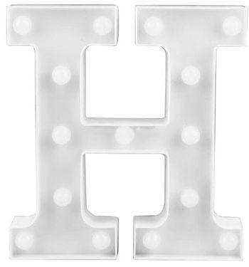 Letra LED - H