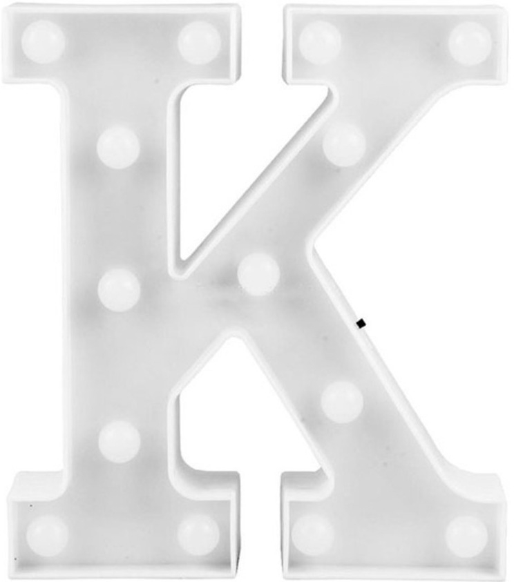 Letra LED - K