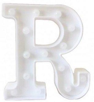 Letra LED - R