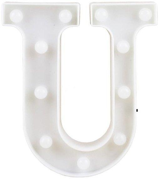 Letra LED - U