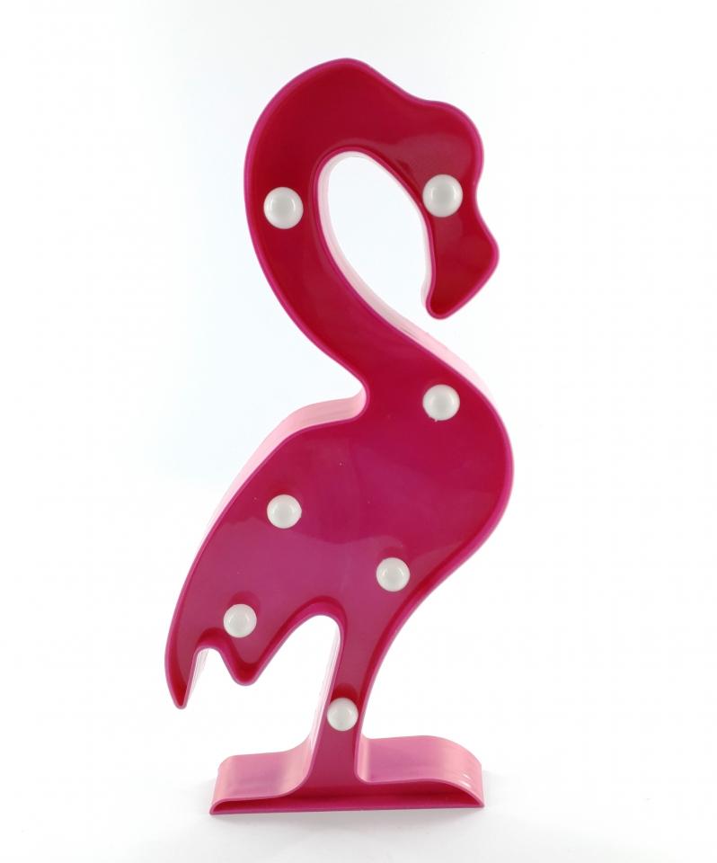 Luminária LED de Flamingo - Pink