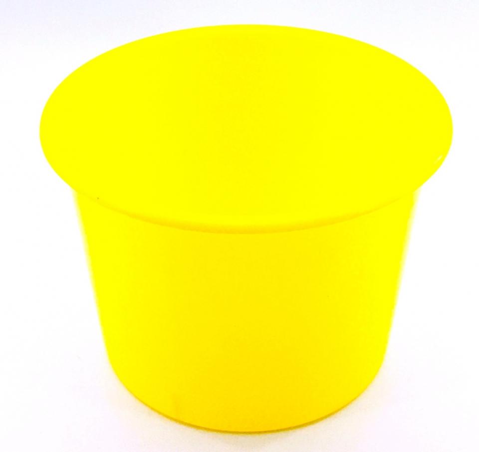 Baldinho de Pipoca - 1,5 litro Amarelo