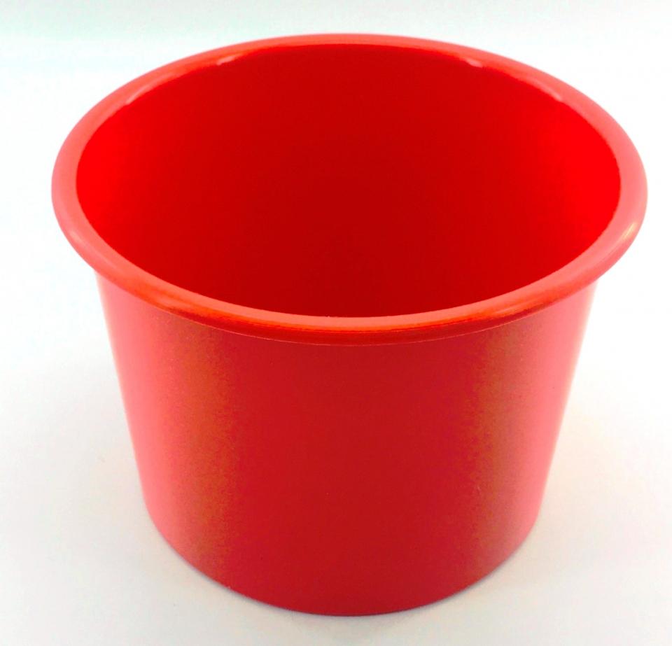 Baldinho de Pipoca - 1,5 litro Vermelho