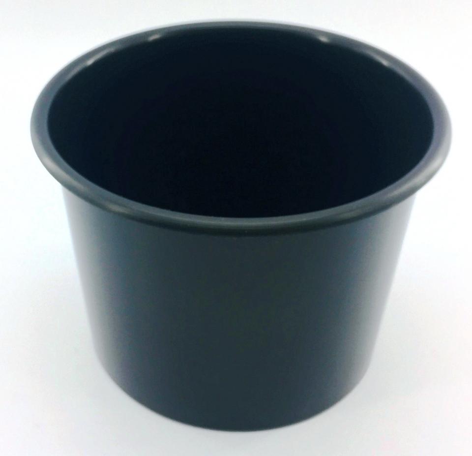 Baldinho de Pipoca - 1,5 litro Preto