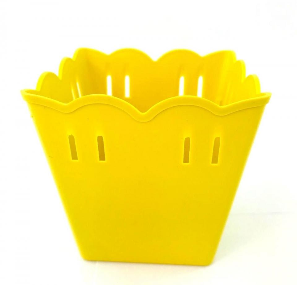 Cachepot Plástico PF 10 und - Amarelo