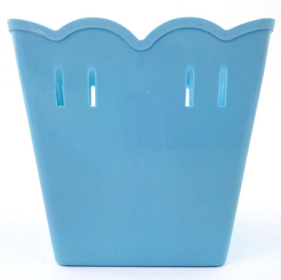 Cachepot Plástico PF 10 und - Azul Bebê