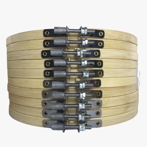 Bastidor Ajustável de Bambu - 18 cm