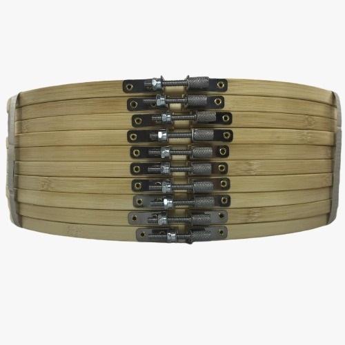 Bastidor Ajustável de Bambu - 30 cm