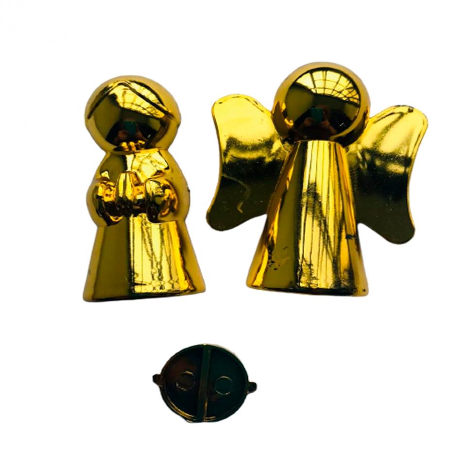 Anjinho Metalizado - Dourado