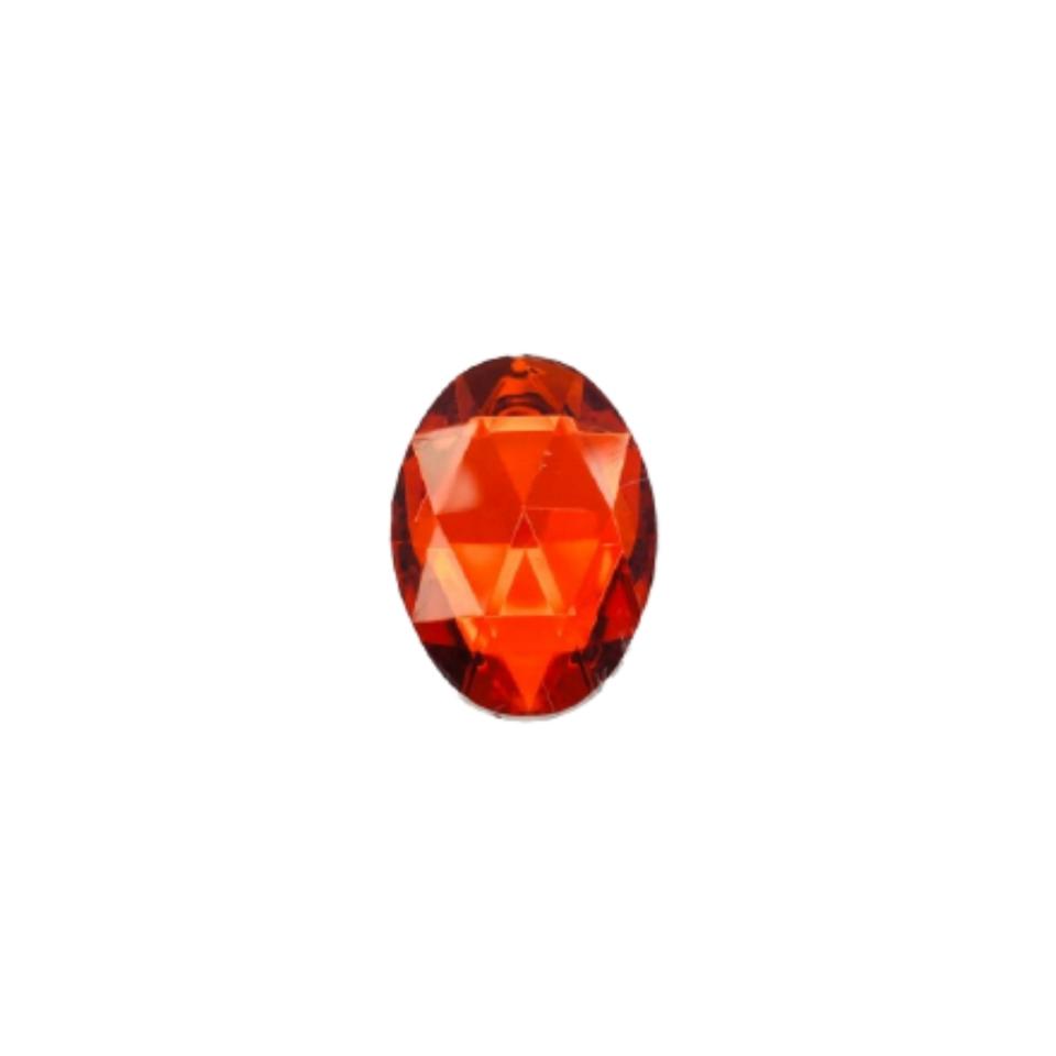 Chaton Oval 13x18 - Vermelho