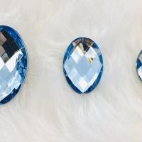 Chaton Oval 13x18 - Azul