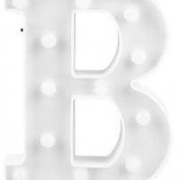 Letra LED - B