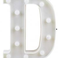 Letra LED - D