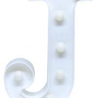 Letra LED - J