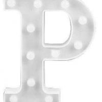 Letra LED - P
