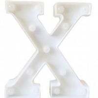 Letra LED - X