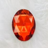 Chaton Oval 18x25 - Vermelho