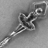 Bailarina Acrílica 12,5Cm - Cristal