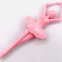 Bailarina Acrílica 12,5Cm  - Rosa Leitoso