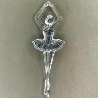 Bailarina Acrílica 8Cm - Cristal