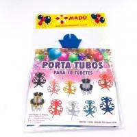 Porta Tubos Redondo - Azul Bic