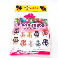 Porta Tubos Redondo - Pink