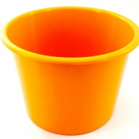 Baldinho de Pipoca - 1,5 litro Laranja