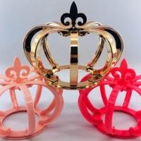 Coroa 3D - Pink