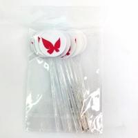 Mini Colher P/ Docinhos - Estampa Borboleta