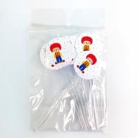 Mini Colher P/ Docinhos - Estampa Circo