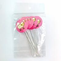 Mini Colher P/ Docinhos - Estampa Ovelha Rosa