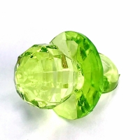 Chupeta Facetada Média 31mm Pct 500g - Verde Cristal