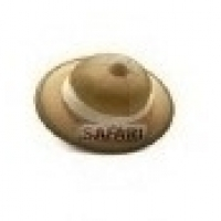 Mini Colher P/ Docinhos - Estampa Chapéu Safari