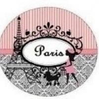 Mini Colher P/ Docinhos - Estampa Paris