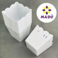 Cachepot Plástico PF 10 und - Branco