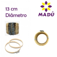 Bastidor Ajustável de Bambu - 13 cm