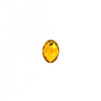 Chaton Oval 10x14 - Dourado